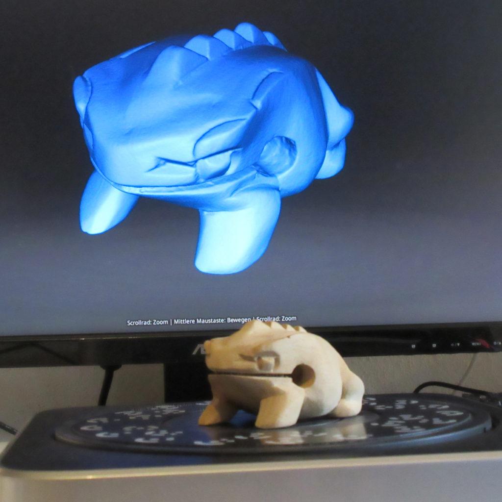 3D Scan Nachbearbeitung