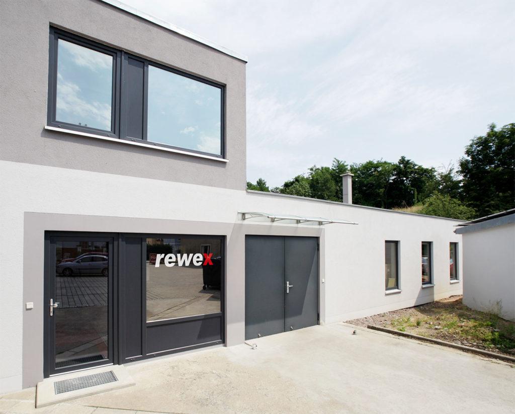 Firmengebäude Rewex GmbH
