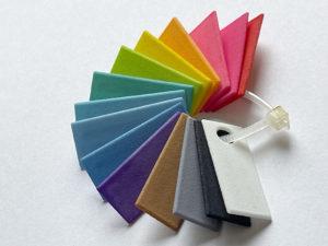 SLS Druck - Farben